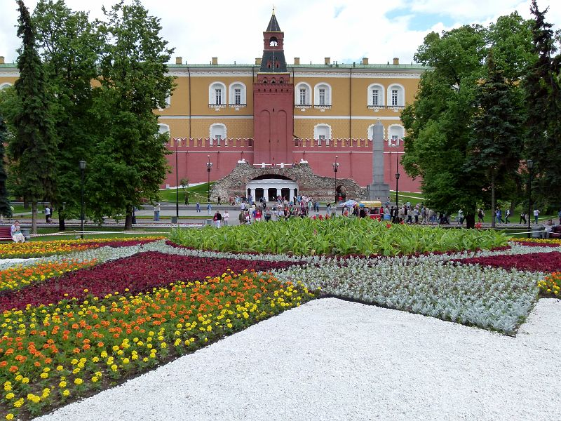 777 photos russie 2011 03 moscou kremlin 10 kremlin jardin alexandre. Black Bedroom Furniture Sets. Home Design Ideas