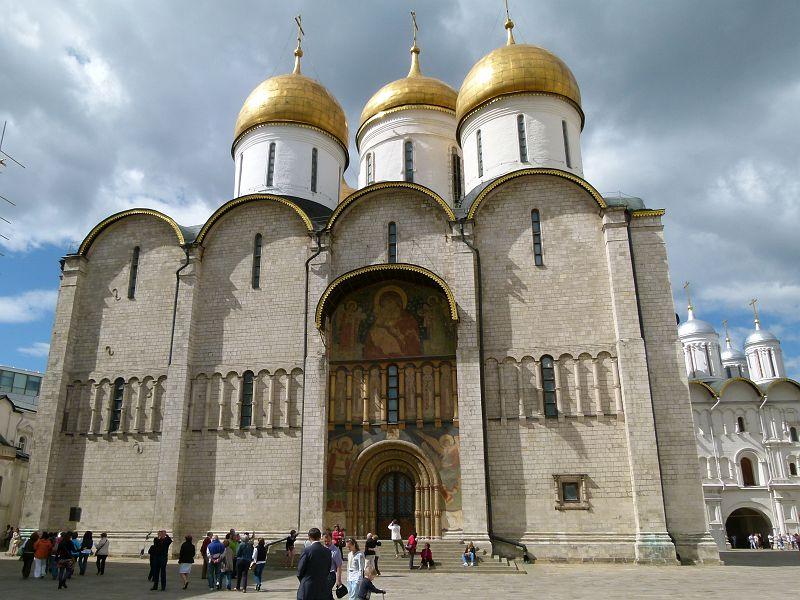 moscou kremlin cathédrale de la dormition