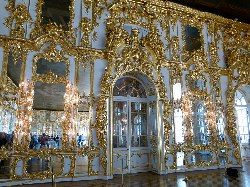 17 Tsarskoie Selo Palais Catherine Grande salle de Danse.JPG