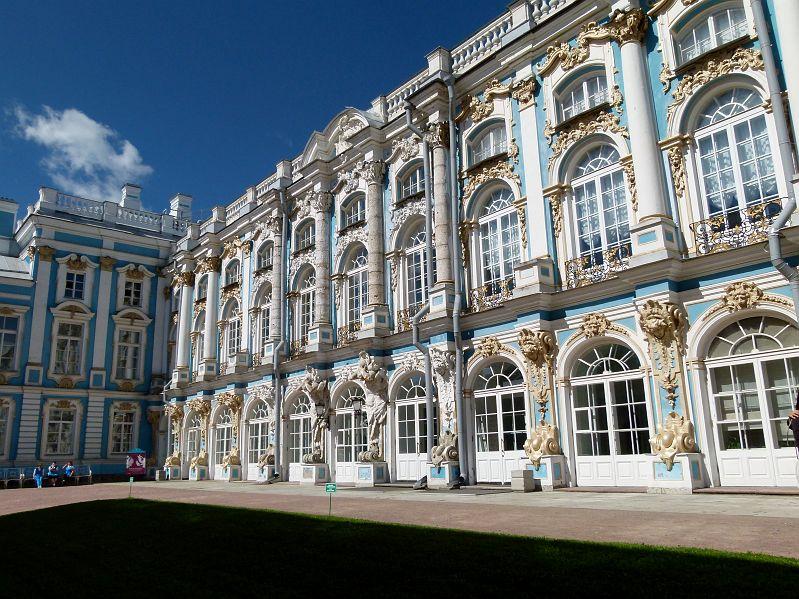 25 Tsarskoie Selo Palais Catherine Facade.JPG